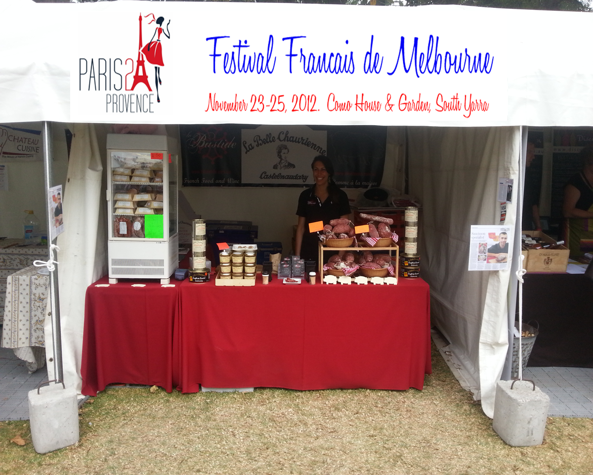 Stand La Bastide at Paris To Provence Festival